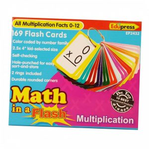 EP2432 Math in a Flash, Multiplication