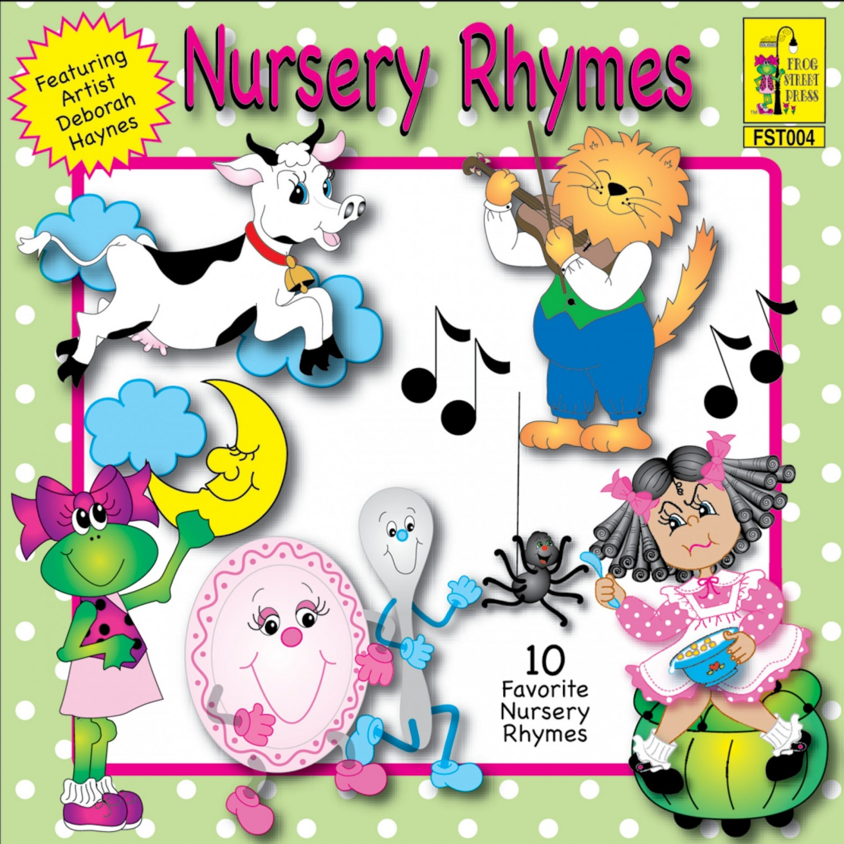 Nursery Rhyme Collection Cd