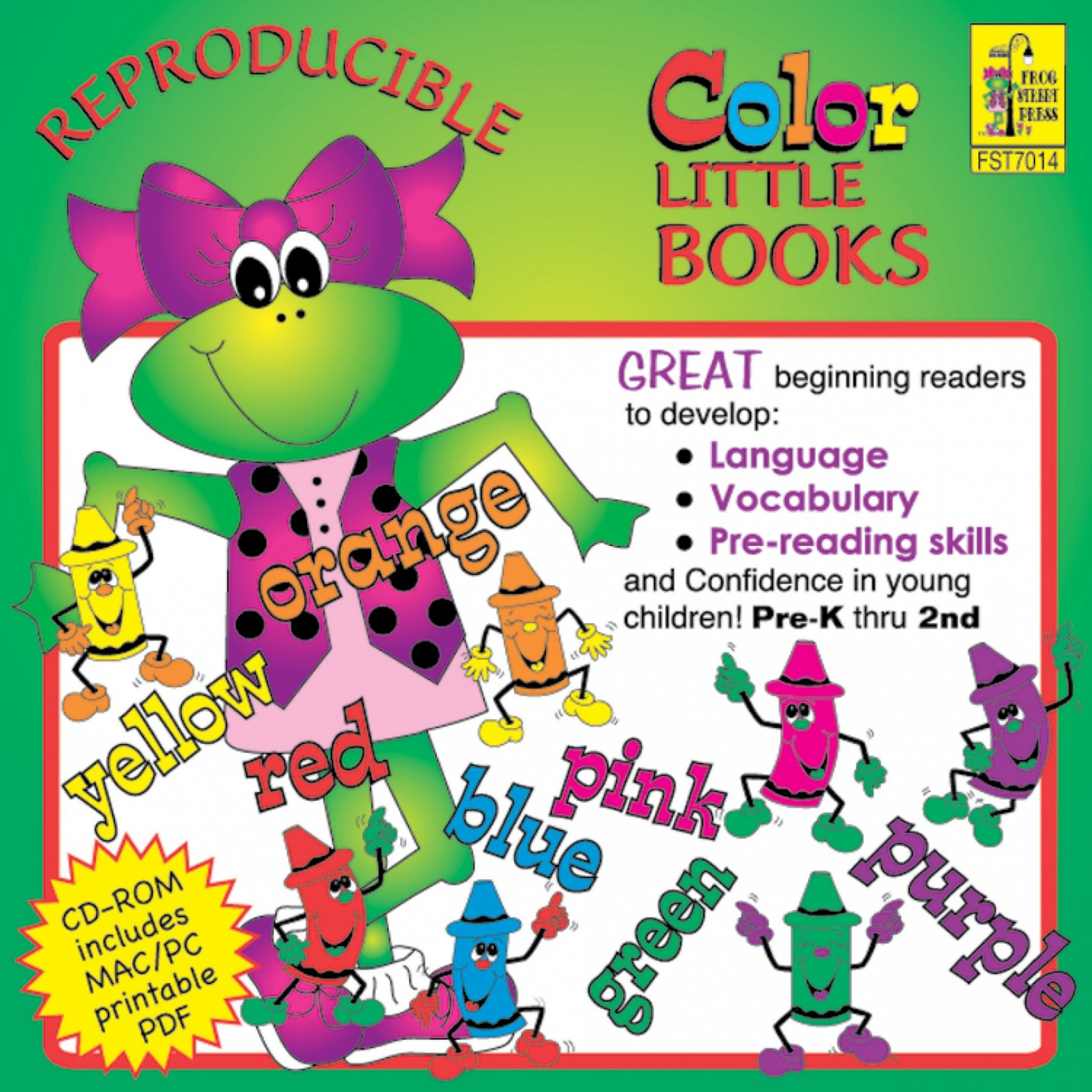 Nursery Rhymes Reproducible Little Books CD-ROM – Melody House Music