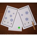 Snowflake Count & Clip Cards
