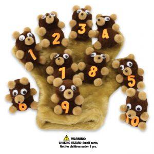 WZ2506 Ten Little Bears & Monkey Mitt Starter Set