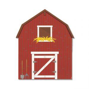 WZ304H Old MacDonald's Barn Printed Prop